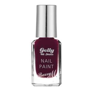 Barry M make-up 1/2 price @ Boots - E.G Barry M Gelly High Shine nail paint £1.99 (£2 C&C / £3.50 Delivery)