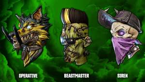 4 Free Halloween Heads For Borderlands 3