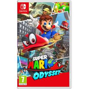 Super Mario Odyssey (Nintendo Switch Game) for £31.99 delivered using code @ Currys