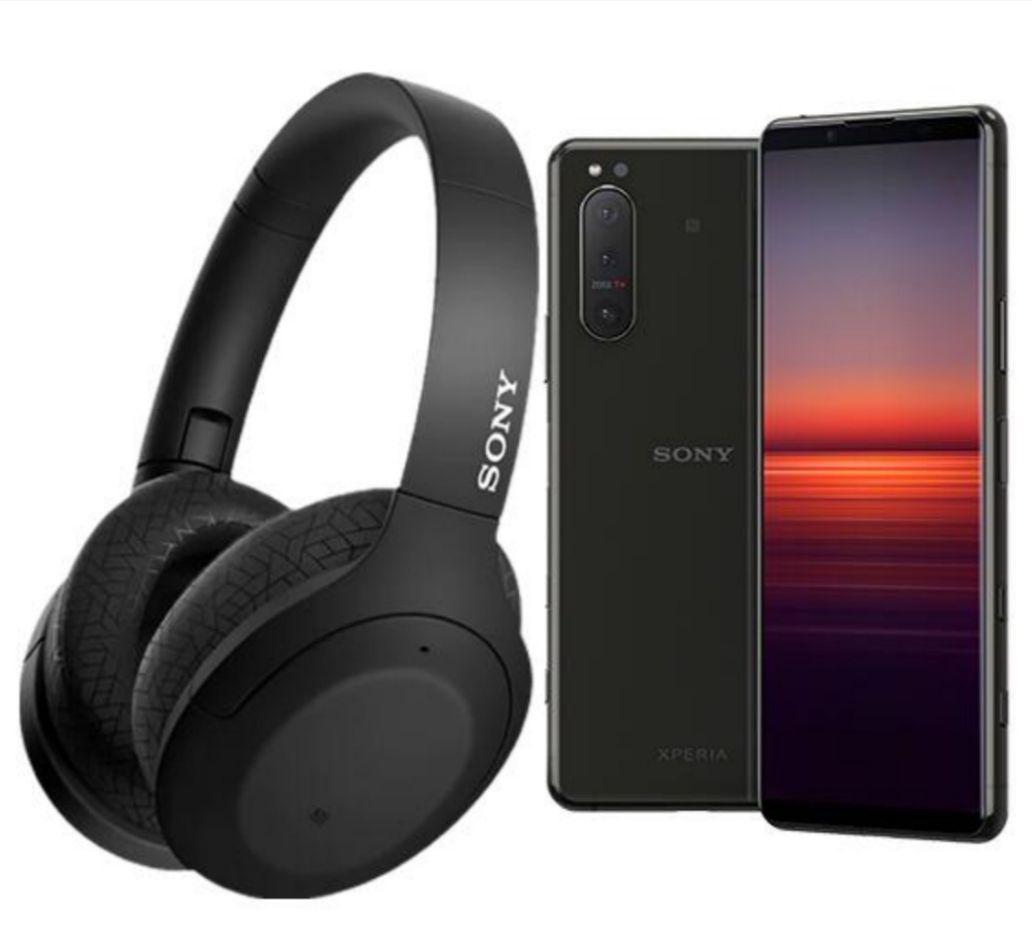 Sony Xperia 5 ll (+ Free WH-H910N Headphones) 128 GB Black 4000 mAh 6.1-inch Smartphone (+ 7% Topcashback) £799.99 @ Carphone Warehouse