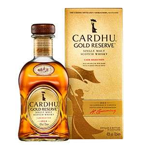 Cardhu Gold Reserve Single Malt Scotch Whisky 70cl £28 @ Asda