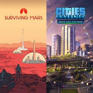 Cities: Skylines + Surviving Mars (Xbox One) £11.99 @ CDKeys