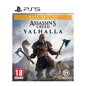 PS5/ PS4/ Xbox One Assassins Creed Valhalla Gold Edition Free Statuette £69.99 @ The Game Collection