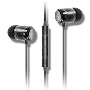 Soundmagic E11c in-ear earphones - Silver and Black (20% discount plus extra 5% off for first time purchasers) @ Sound Magic Headphones