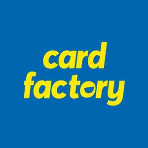 Free 1st class delivery on personalised cards throughout October (Cards from £1.79) @ Card Factory