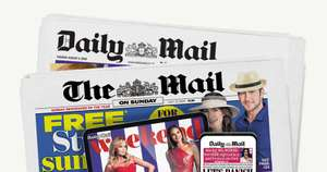 Free £20 M&S Gift Card for One month (£10.99) Daily Mail Online Subscription - free cancellation after one month!