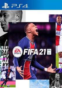 FIFA 21 [PS4 with free PS5 upgrade] for US/Canadian PSN accounts £42.99 @ CDKeys
