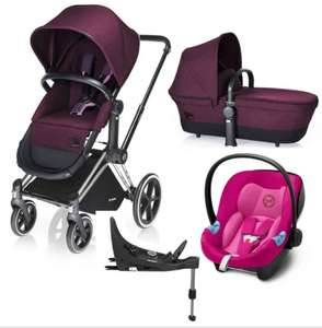 Cybex Priam 2018 bundle with car seat and base - £599 @ Winstanleys Pramworld