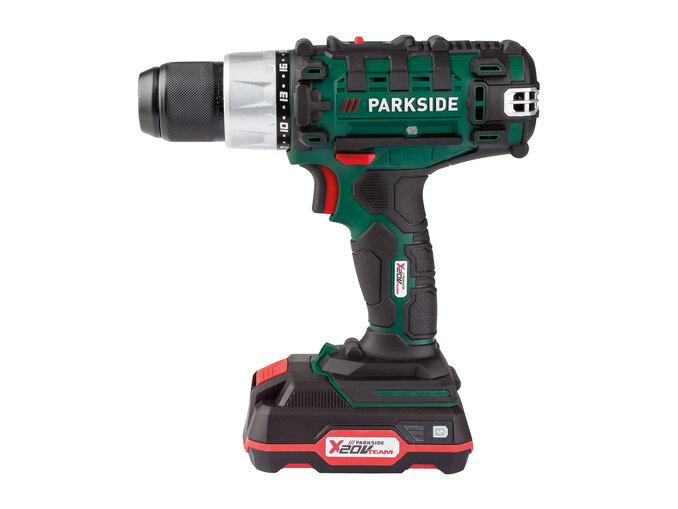 Parkside 20V Cordless Drill Set £39.99 @ LIDL
