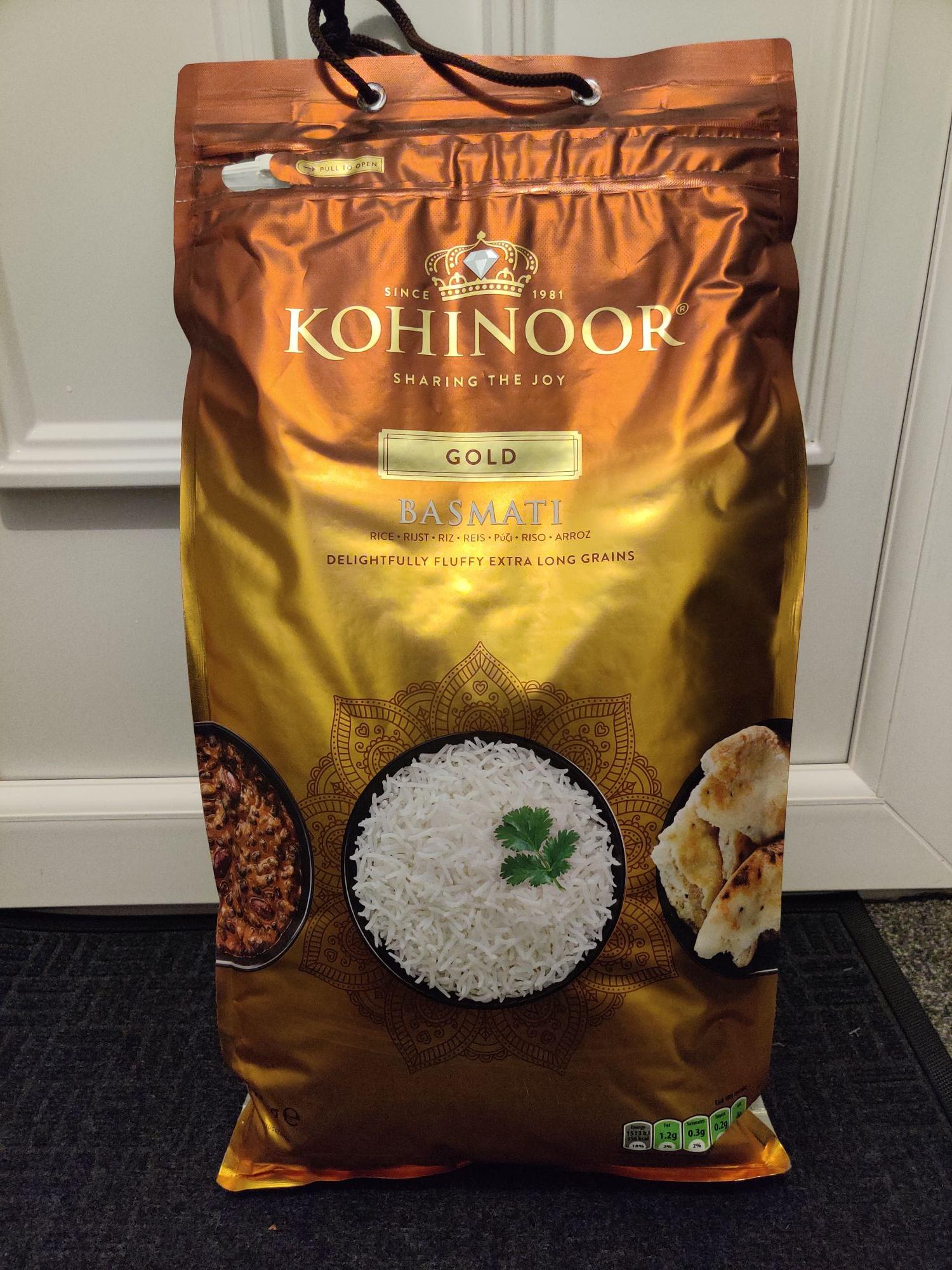 Kohinoor Gold Basmati Rice £12.50 @ Asda