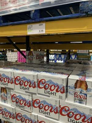 20x330ml Coors Light - £10.90 instore @ Costco (Bristol)
