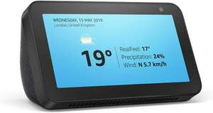 Echo Show 5 –Stay in touch with the help of Alexa, Black £39.99 (Via Alexa) @ Amazon