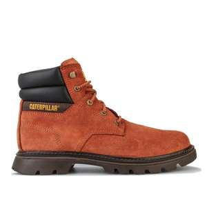 Mens Caterpillar Quadrate Boots in Brown £39.99 Delivered (With Codes) @ Get The Label