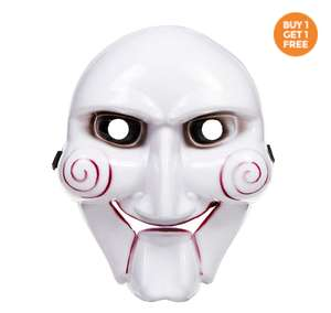 Halloween Masks Half Price + BOGOF from 99p / Costumes From £4.99 / Contact lenses 25% off from £1.49 + £3.99 delivery @ Blue Banana