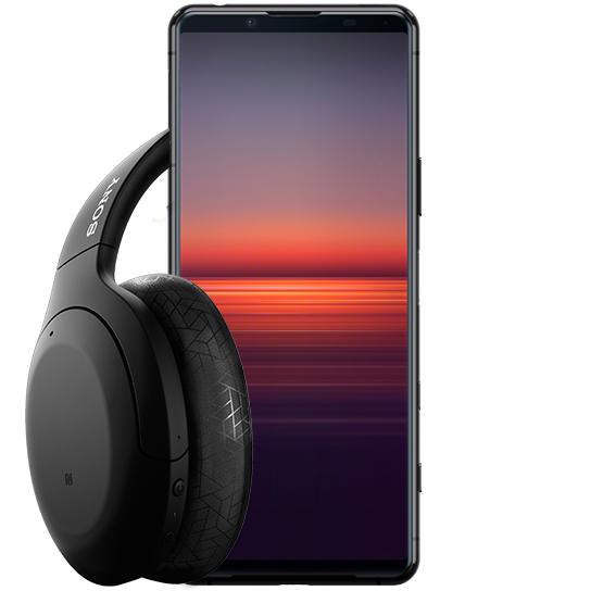 Sony Xperia 5 II 5G + Claim free pair of Sony WH-H910N headphones £677.64 O2 Refresh
