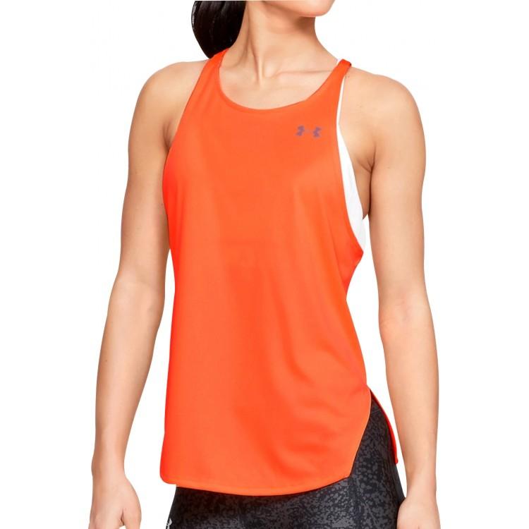 Under Armour Speed Stride Womens Running Vest Tank Top - Orange £15.95 delivered at Start Fitness