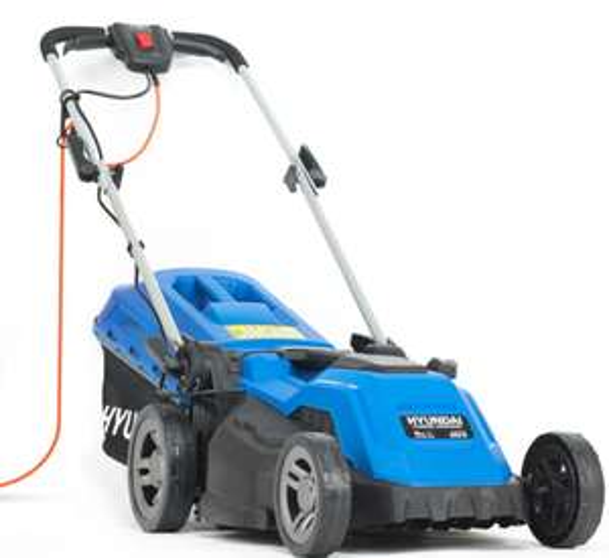 Hyundai HYM3800E Electric 1600W / 230V 38cm Rotary Rear Roller Mulching Lawnmower - £103.54 With Code @ Hyundair Power Equipment