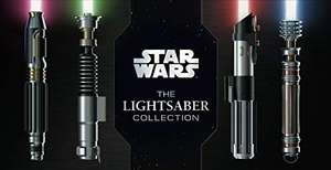Star Wars: The Lightsaber Collection Hardcover Book Pre-order £11 delivered at Amazon