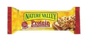 Nature Valley Protein Salted Caramel 4 for £1 at Sam 99p Stores
