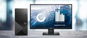 Dell Vostro Desktop 3888 PC with 24'' IPS monitor, keyboard and mouse £473.69 @ Dell