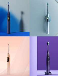 Oclean X Pro Sonic Electric Toothbrush (Toothbrush + brush heads) £47.41 @ AliExpress Deals / OCLEAN Official Flagship Store