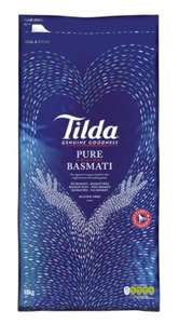Tilda Basmati Rice 10kg £19 at Sainsbury's