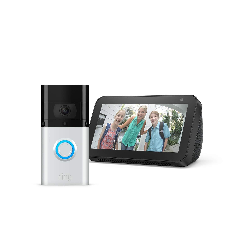 Ring Doorbell 3 Plus + Echo Show 5 £129 @ Amazon Prime