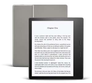Kindle Oasis | Now with adjustable warm light | Waterproof, 8 GB, Wi-Fi £159.99 @ Amazon (Prime Exclusive)