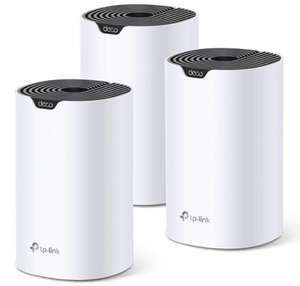 TP-Link Deco S4 (3-pack) AC1200 Whole-Home Mesh Wi-Fi System (works with Amazon Echo/Alexa) - £94.99 @ Amazon (Prime Exclusive)