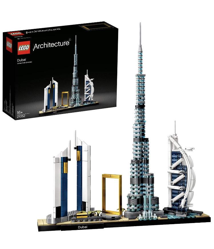 LEGO Architecture 21052 Dubai Skyline £33.99 with Amazon Prime