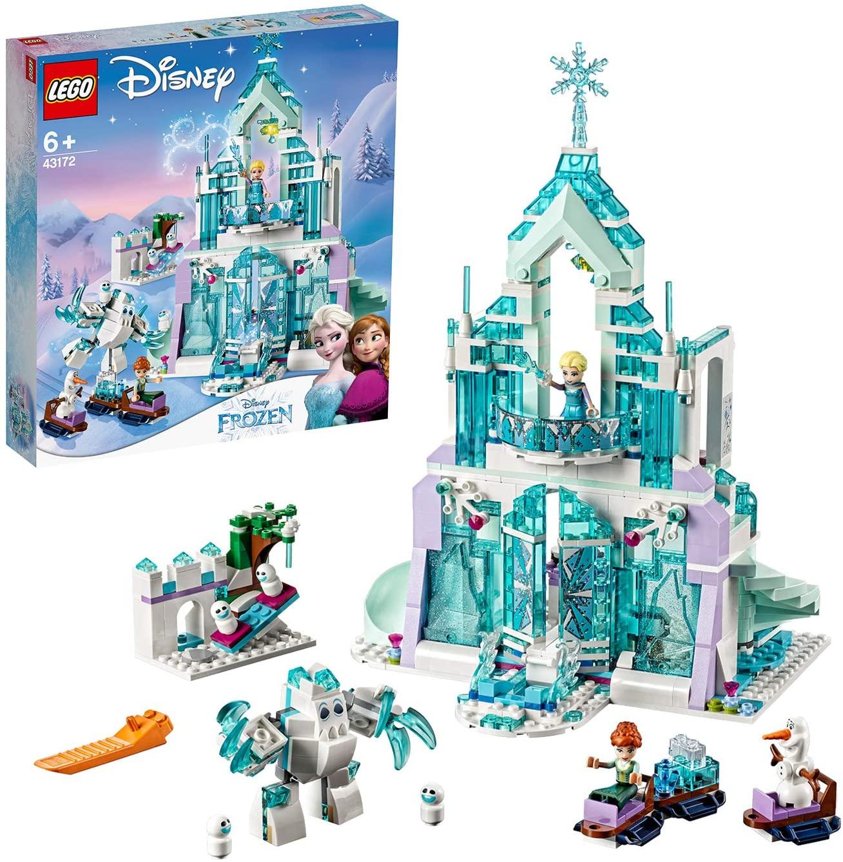 LEGO 43172 Disney Princess Frozen Elsa's Magical Ice Palace Set with Princess Elsa and Anna Mini Dolls £41.49 @ Amazon (Prime Exclusive)