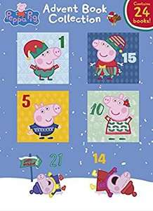 Peppa Pig Advent Book Collection (24 Peppa Pig books) - £10 Prime - Amazon Prime