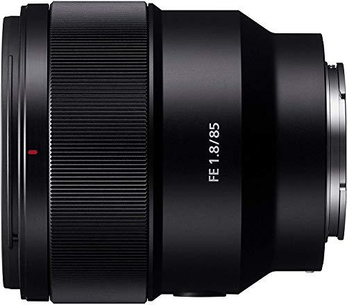 Sony SEL85F18 E Mount Full Frame 85 mm F1.8 Prime Lens - Black £399 @ Amazon Prime