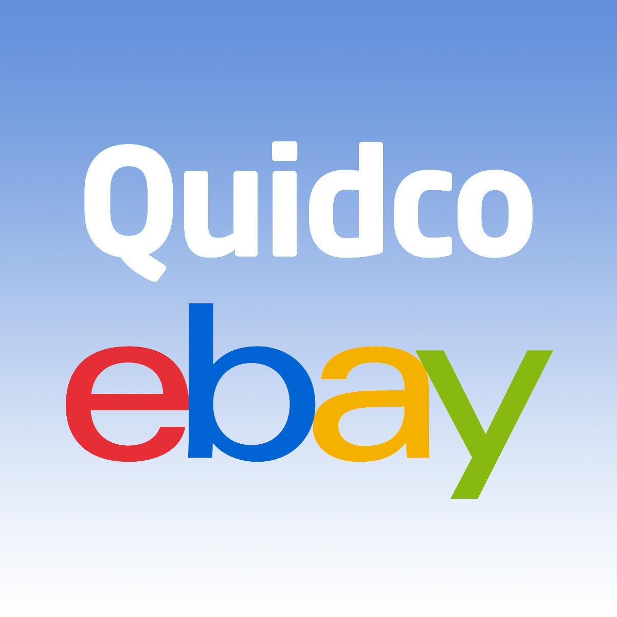 Spend £25 and get a £2.50 bonus at eBay via Quidco