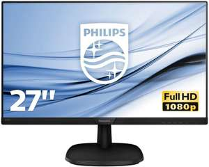 Philips 273V7QJAB 27-Inch IPS Full HD Monitor with Speakers £95.99 Amazon Prime