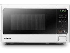 Toshiba 800 w 20 L Microwave Oven with Digital display, 6 Preset Recipes, 11 Power Levels - White £48.99 @ Amazon
