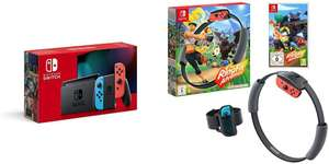 Nintendo Switch (Neon Red/Neon blue) + Ring Fit Adventure £314.99 delivered @ Amazon Prime