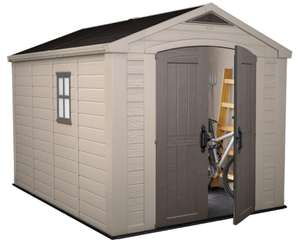 Keter Factor 8ft x 11ft (2.6 x 3.3m) Shed - £699.89 delivered @ Costco