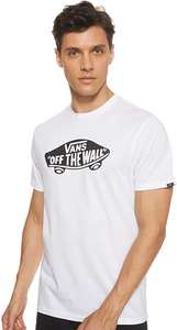 Vans Men's Otw Short Sleeve Slim Fit T-Shirt in White / Black from £8.71 - £16.09 Delivered @ Amazon with Amazon Prime