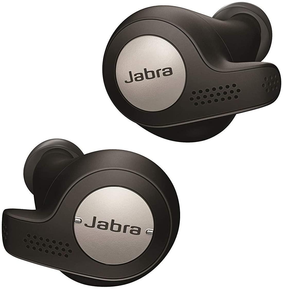 Jabra Elite Active 65t Passive Noise Cancelling Earphones (Copper Black/Copper Blue/Copper Red/Titanium Black) - £89.99 delivered @ Amazon