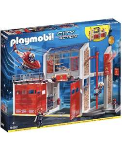 Playmobil City Action 9462 Fire Station with Sound Effects for Children Ages 5+ £45.99 Amazon Prime