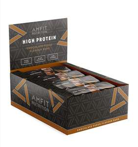 Amazon Brand -Amfit Nutrition Low Sugar Protein Bar multiple flavours 12-pack (12 x 60g) - £11.60 @ Amazon Prime Exclusive