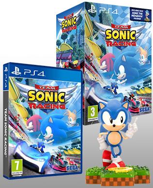 Team Sonic Racing & Sonic Totaku Figurine Gift Pack (PS4) £19.99 @ Amazon Prime Exclusive