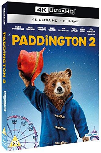Paddington 2 4K Ultra HD (Dolby Atmos) + Blu-Ray £7.99 prime / £10.98 non prime @ Amazon UK