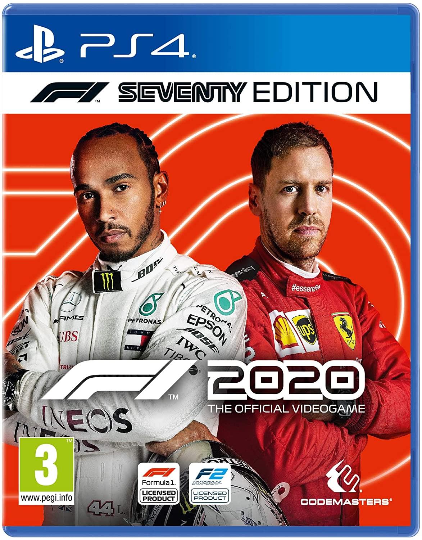F1 2020 Seventy Edition (PS4) - Prime Exclusive - £30.99 delivered @ Amazon