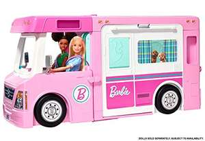 Barbie New GHL93 3-in-1 Dream Camper Vehicle and Accessories £56.99 delivered (Prime Deal) @ Amazon
