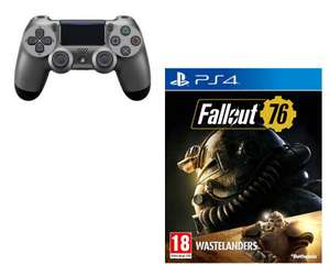 Buy a selected PlayStation 4 Controller & Get Fallout 76 Wastelanders Free - £39.99 (Click & Collect) @ Argos