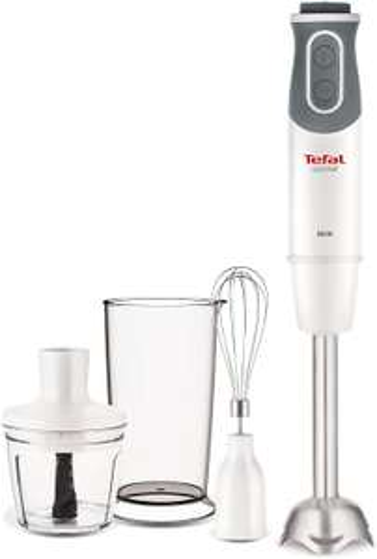 Tefal HB643140 Optichef Quartzite Hand Blender, 800 W, White 334.99 Prime Exclusive Deal Amazon