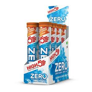 20 x 8 Tubes HIGH5 ZERO (all flavours) Electrolyte Hydration Tablets Added Vitamin C £19.40 Amazon Prime Exclusive Deal