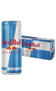 Red Bull Sugarfree Energy Drink, 250 ml, Pack of 12 £9.37 Amazon Prime / £13.86 Non Prime